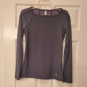 Gap longsleeve mesh back shirt